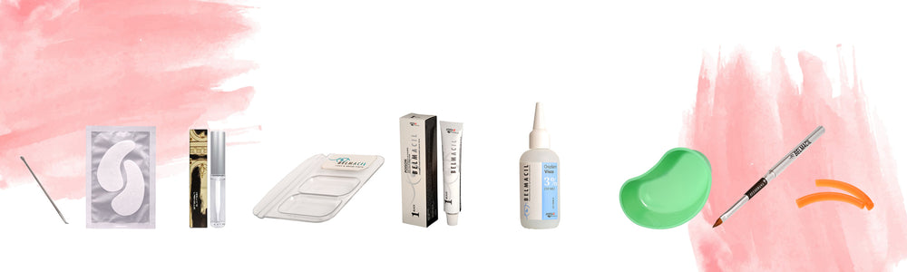 Lash Lifting and Tinting Tools