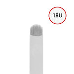 Microblade 18 PIN U-Blade (25 pcs) - Lash and Brow Supplies