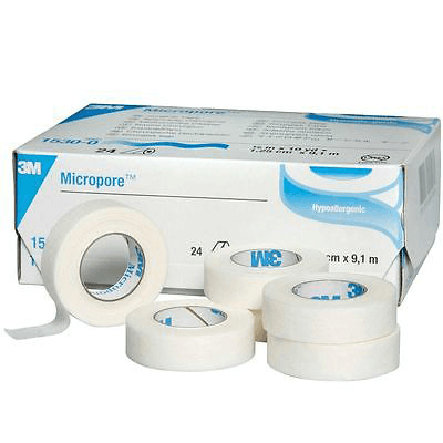 2x 3M Micropore Medical Tape - Lash and Brow Supplies