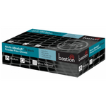 Bastion Ultra Soft Disposable Gloves - Black (100pcs)  *Must Have* - Lash and Brow Supplies