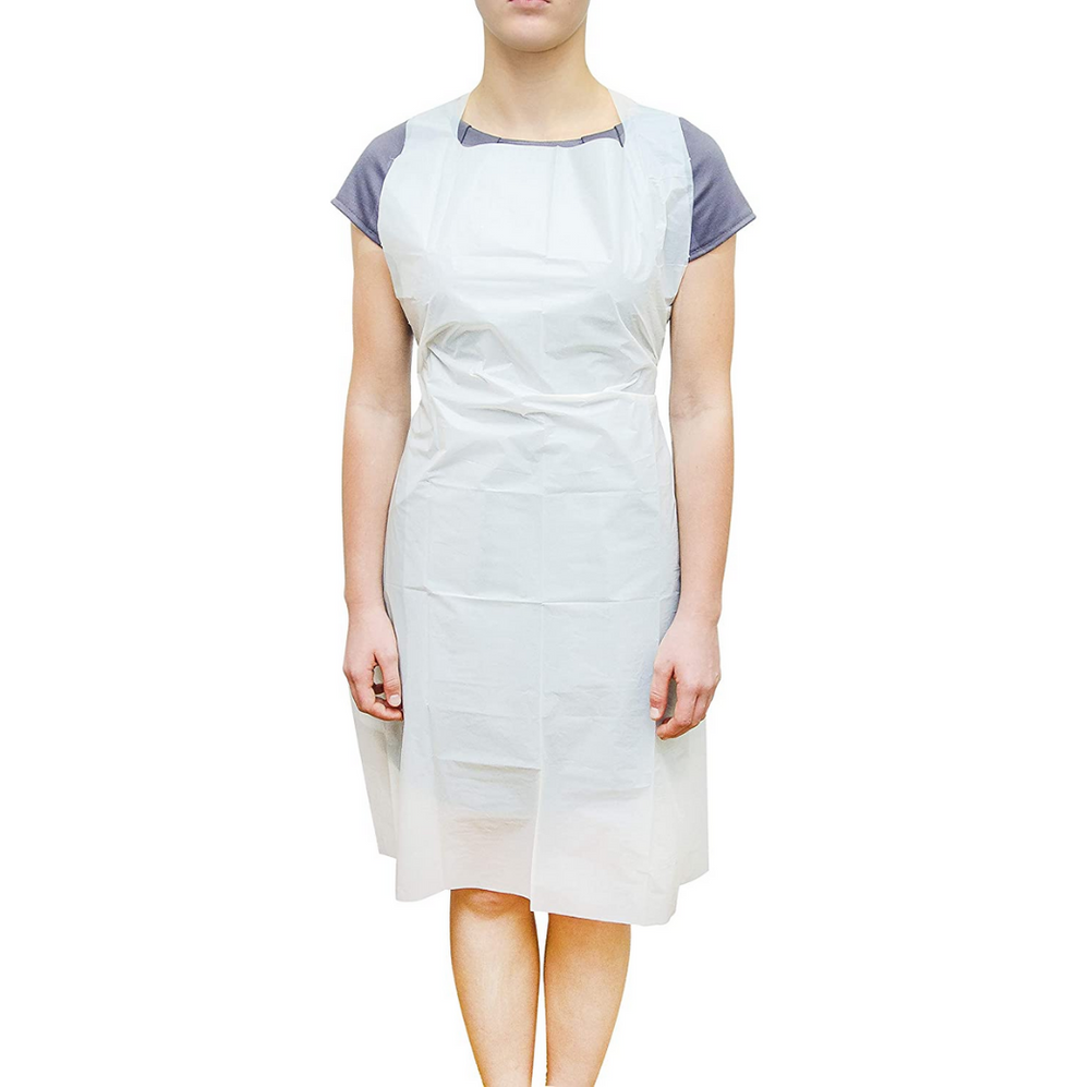 Disposable Apron White (100 pcs) *Must Have*