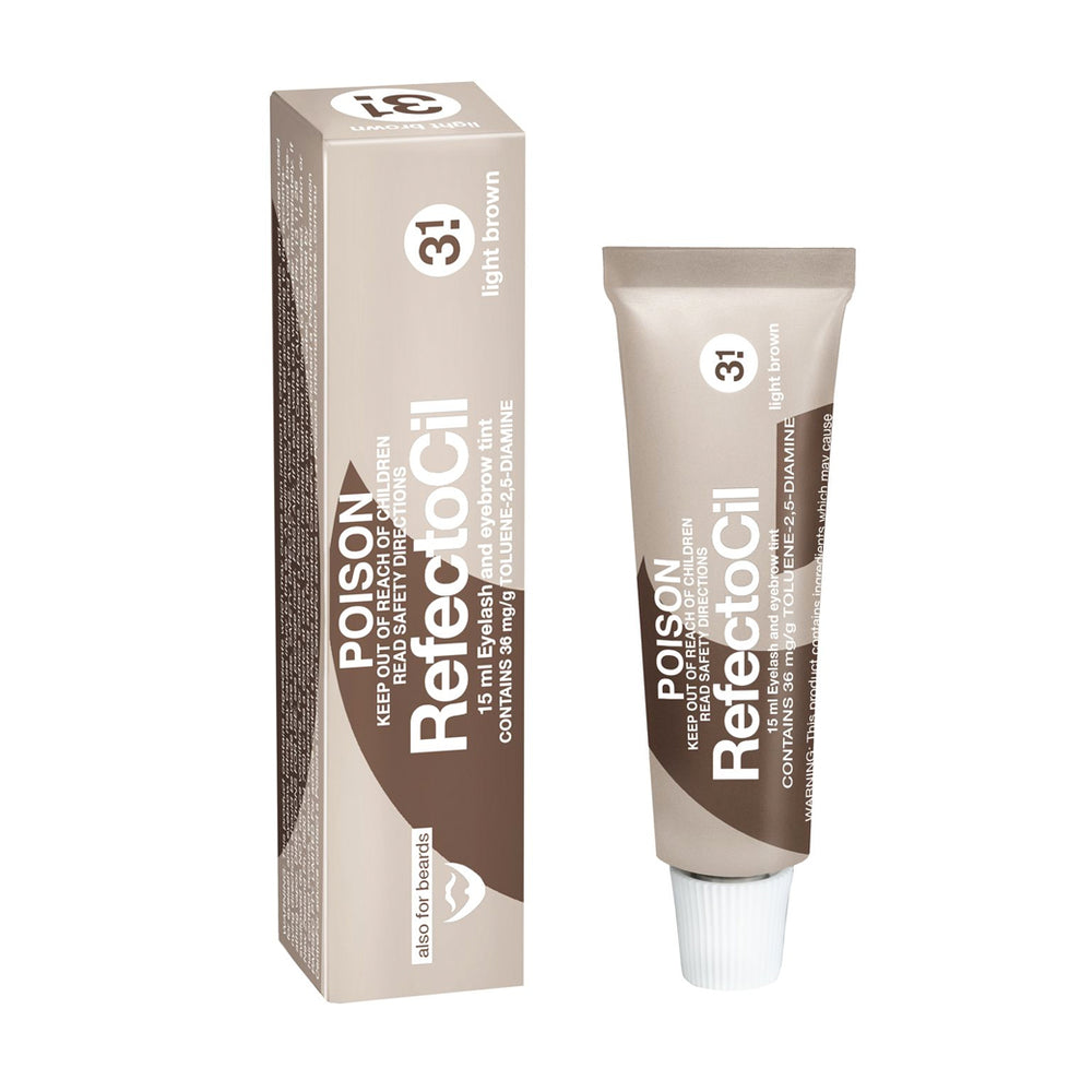 RefectoCil Lash and Brow Tint - Light Brown No. 3.1
