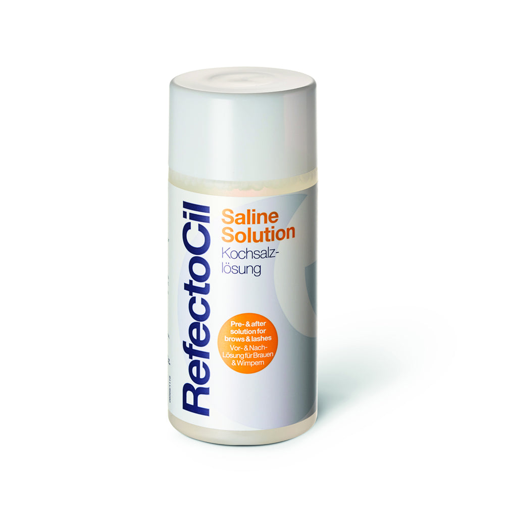 RefectoCil Saline Solution 150ml (Pre and after treatment)