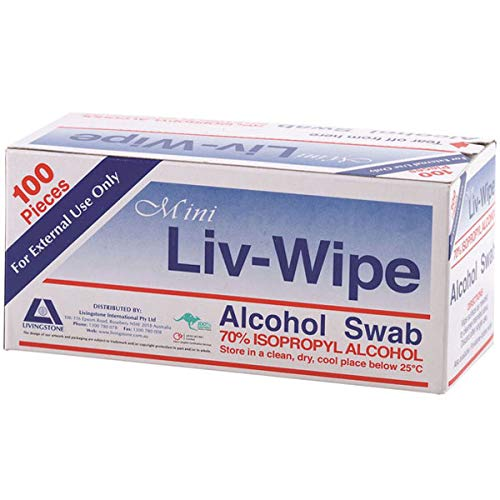 Liv-Wipe Alcohol Swabs