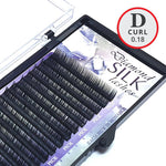 D Curl 0.18mm Diamond Silk Lash Tray