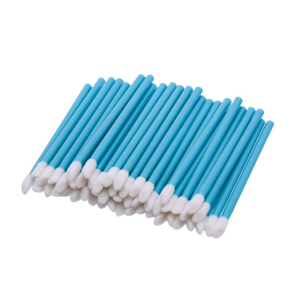 50x Flocked Fibre-Free Disposable Applicators - Black