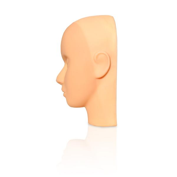 Mannequin Head for Lash Extensions and Beauty Training