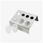 Stainless Steel Pigment Tray - Lash and Brow Supplies