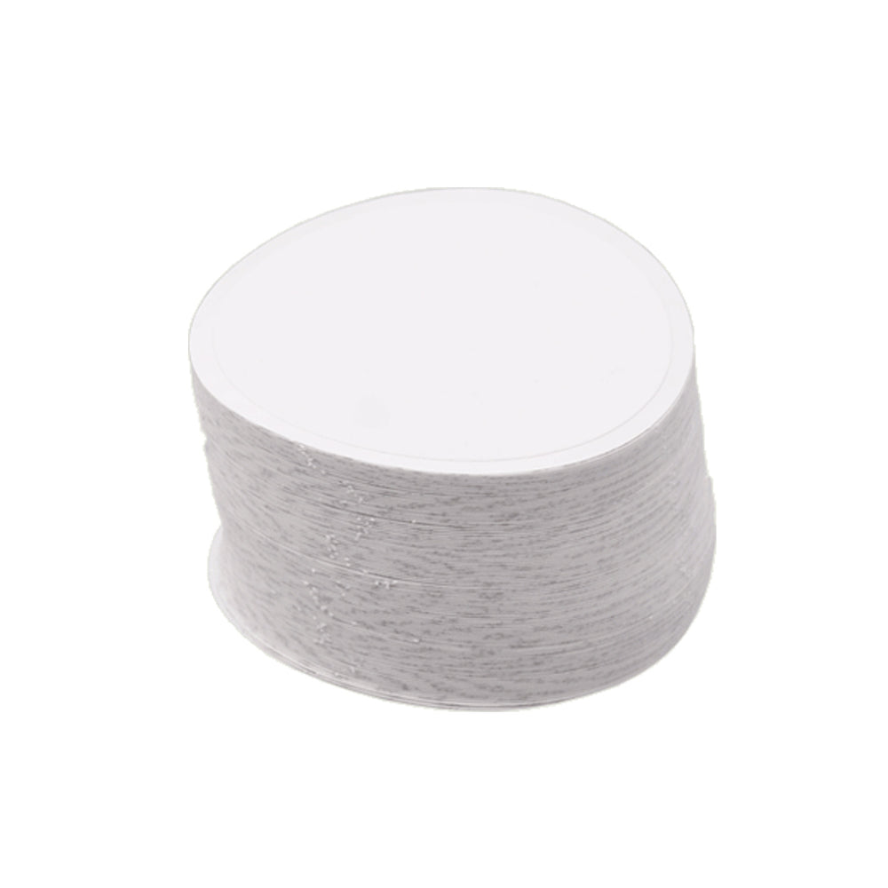 25 x Round Protective Glue Pallet Stickers