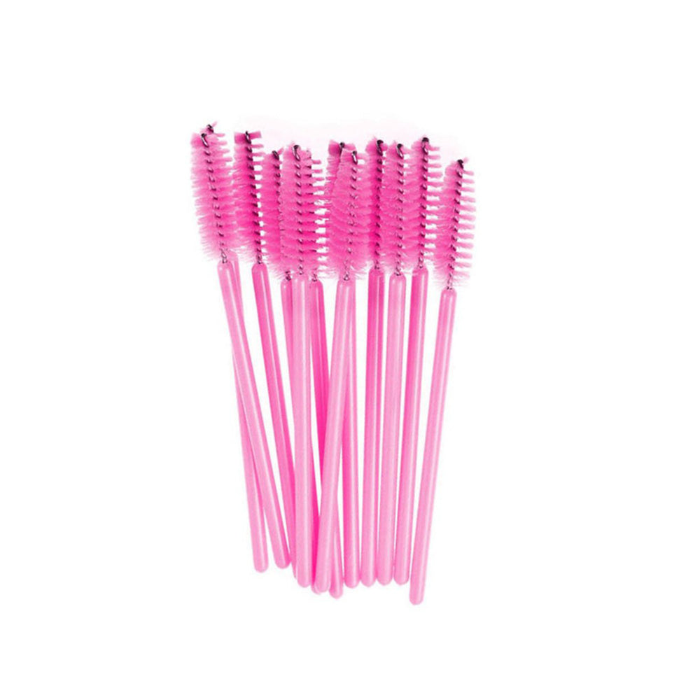 50x Disposable Mascara Wands - Pink - Lash and Brow Supplies