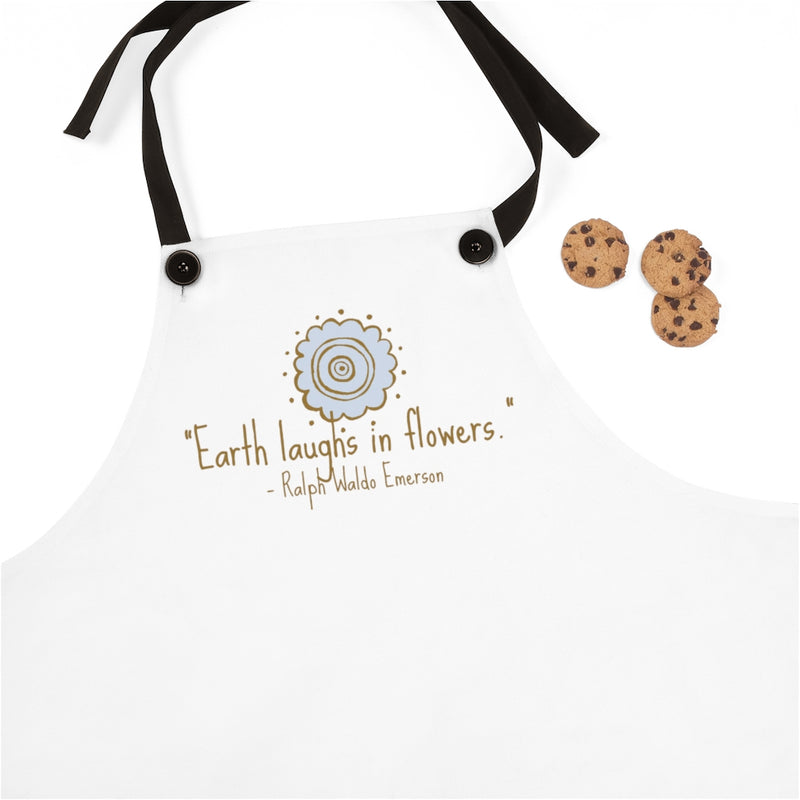 earth laughs in flowers bib
