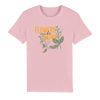 flowers make happy organic tee