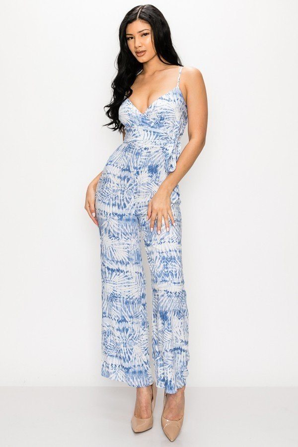 oahu blue jumpsuit