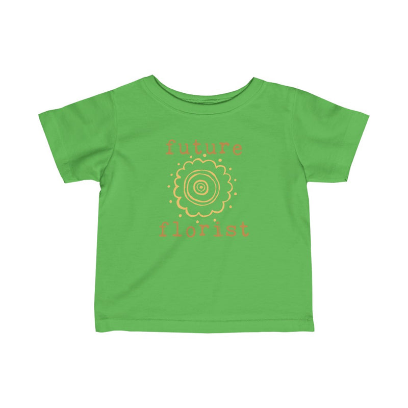 future florist infant graphic tee