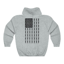 Load image into Gallery viewer, American Bullet Flag Hooded Sweatshirt