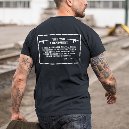 2nd Amendment Mens T-Shirt