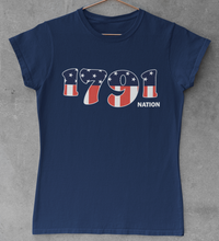 Load image into Gallery viewer, 1791 Nation Americana Women's T-Shirt