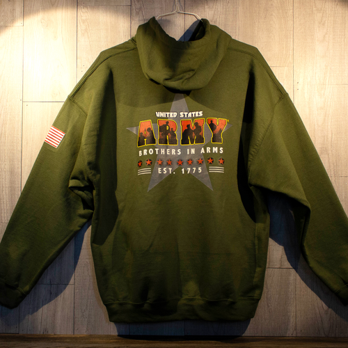 US Army® Licensed Hooded Sweatshirt