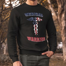 Load image into Gallery viewer, Medical Warrior Unisex Crewneck Sweatshirt