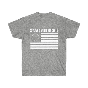 2tAnd with Virginia Mens T-Shirt