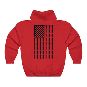 American Bullet Flag Hooded Sweatshirt