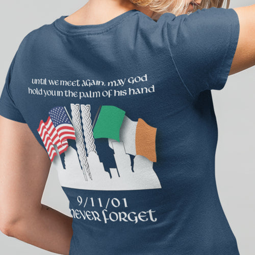 Irish Blessing 9/11 Tribute Heritage Women's T Shirt
