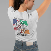 Load image into Gallery viewer, Irish American Patriot Heritage Women's T Shirt