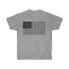 Load image into Gallery viewer, American Bullet Flag Mens T-Shirt