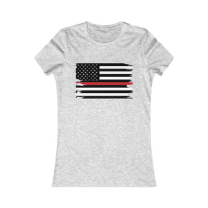 Thin Red Line Flag Women's Tee