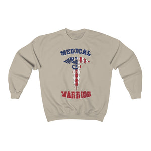 Medical Warrior Unisex Crewneck Sweatshirt