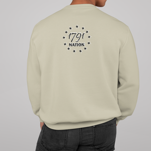 """Don't Tread on Me"" Irish Heritage Crewneck Sweatshirt"