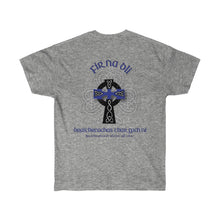 "Load image into Gallery viewer, ""Fir Na Dli"" Blue Line Heritage Men's Tee"