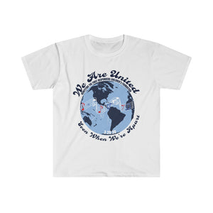 "100% Net Proceeds Donated ""We Are United, Even When We're Apart"" Men's Tee"
