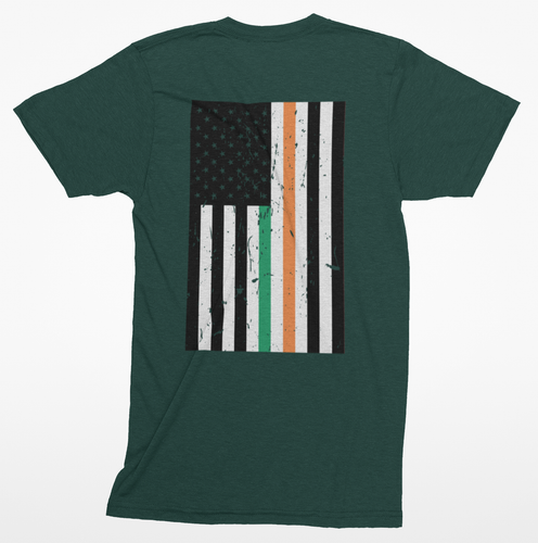 American-Irish Flag Heritage Tee