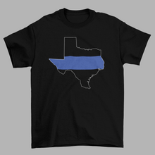 Load image into Gallery viewer, U.S. State Blue Line Mens T-Shirt