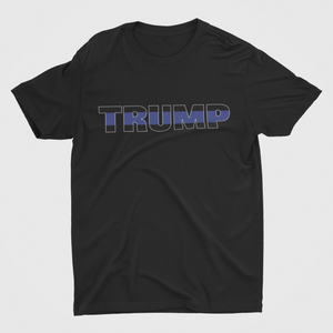 TRUMP Blue Line Mens T-Shirt