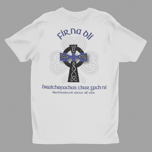 """Fir Na Dli"" Blue Line Heritage Men's T-Shirt"