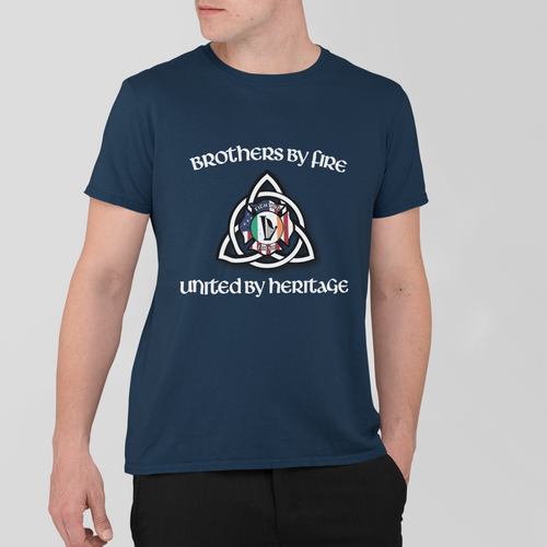Irish Firefighter Heritage T Shirt