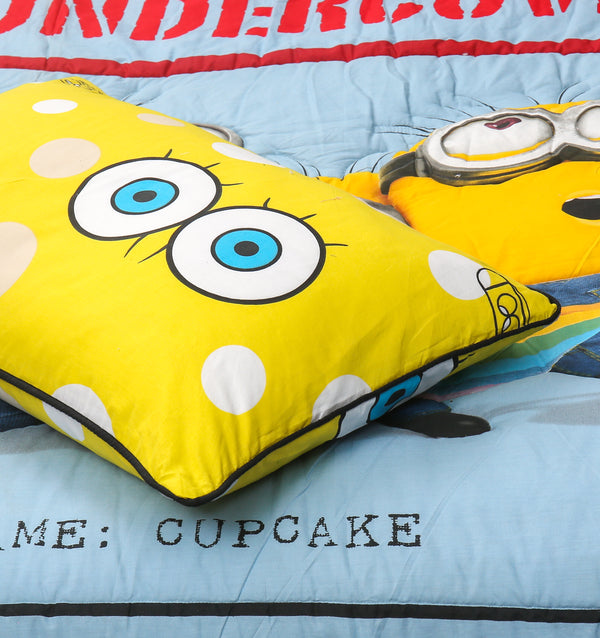 Cartoon Character Quilt Cover - Minion