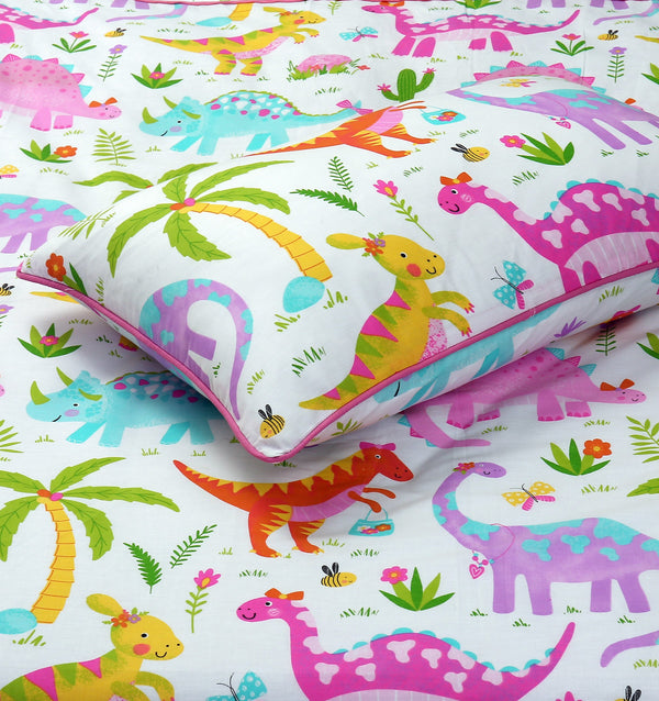Cartoon Character Quilt Cover - Dinos