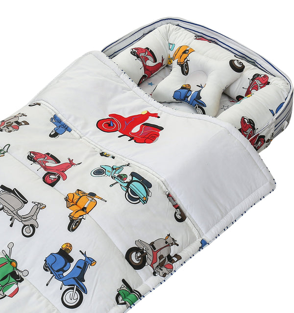 Portable Newborn Bed Baby Cot Nest With Comforter - Vespas