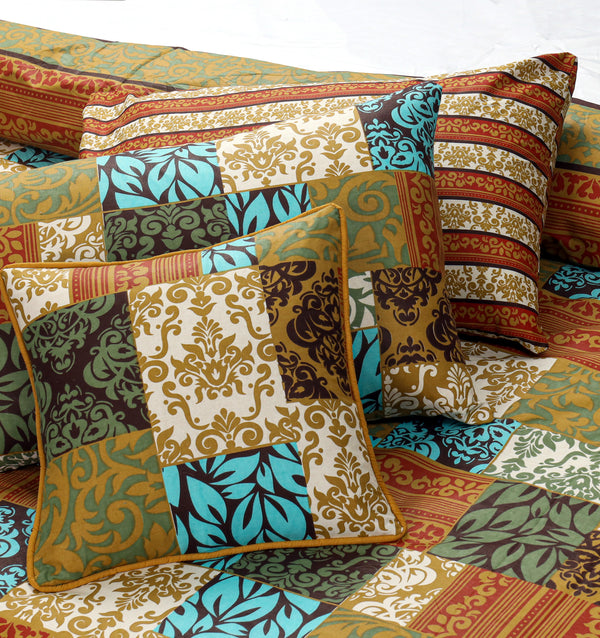 8 PCs Summer Comforter Set - Kaya
