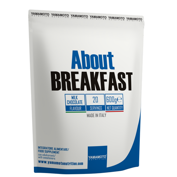 concentrat proteic About Breakfast 600 grame Vanilie