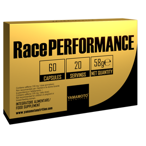 Supliment pre workout race performance