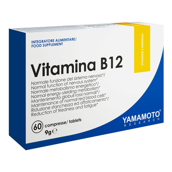 Vitamina B12 (Cobalamina) 60 tablete