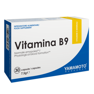 Vitamina B9 (acid folic) 30 capsule