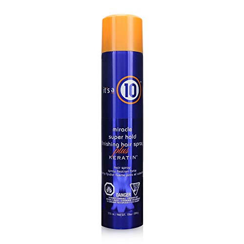 It's a 10 Haircare Miracle Super Hold Finishing Hair Spray Plus Keratin, 10 fl. oz.