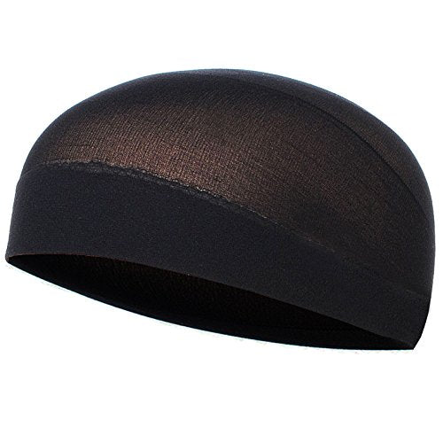 CoverYourHair Black Wig Cap - Soft And Comfy Wig Cap In Black,One Size
