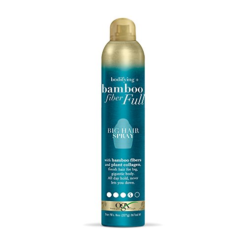 OGX Bodifying + Bamboo Fiber-Full Big Hair Spray, 8 Ounce