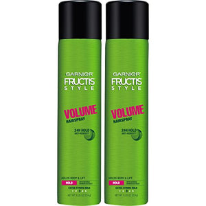 Garnier Hair Care Fructis Style Volume Anti-Humidity Hairspray, 2 Count